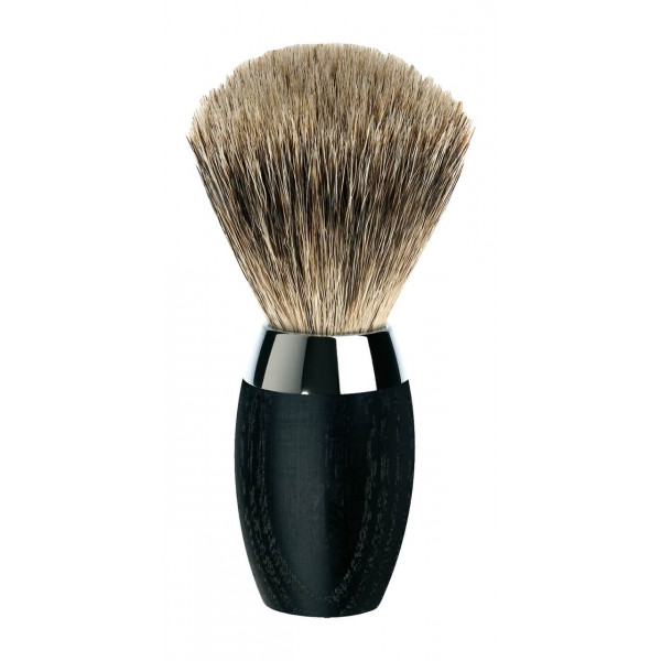 Bog oak wood shaving brush