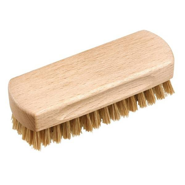 Beechwood shoe shine brush