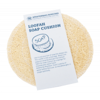 Loofah soap cushion round