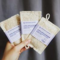 Loofah biodegradable dishwashing sponge