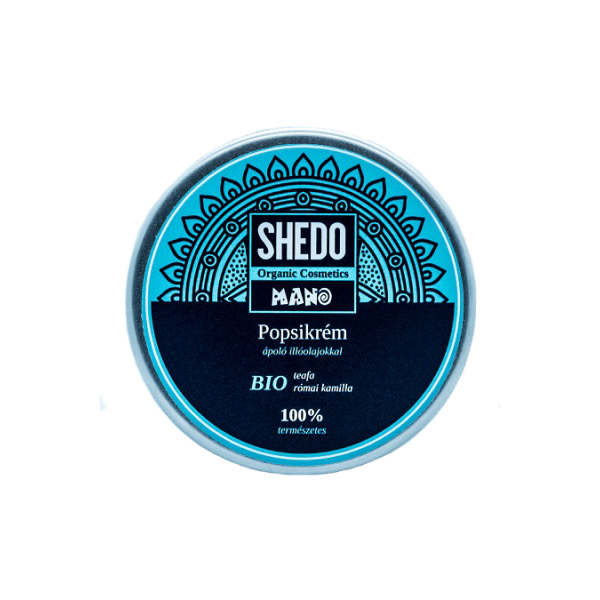 SHEDO Mano bio diaper cream with caring oils 50 ml, 100ml