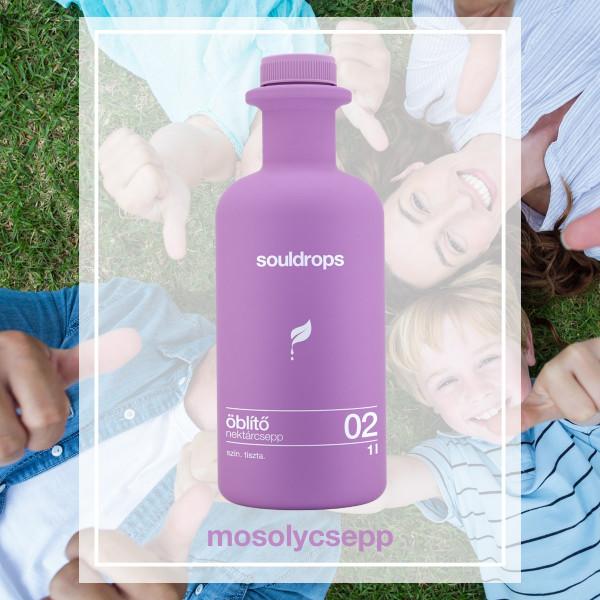 Ecofriendly fabric softener nectardrop 1l