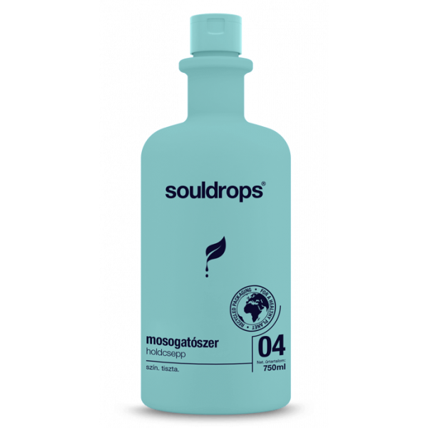 Ecofriendly washing up liquid moondrop 0,75l