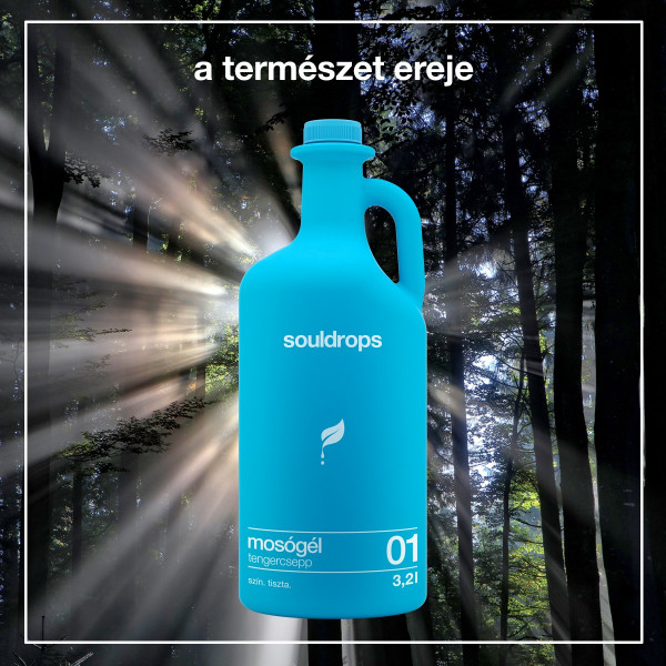 Ecofriendly laundry detergent seedrop 3,2l