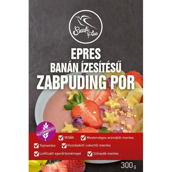 Szafi Free Epres, Banán Ízesítésű Zabpuding P...
