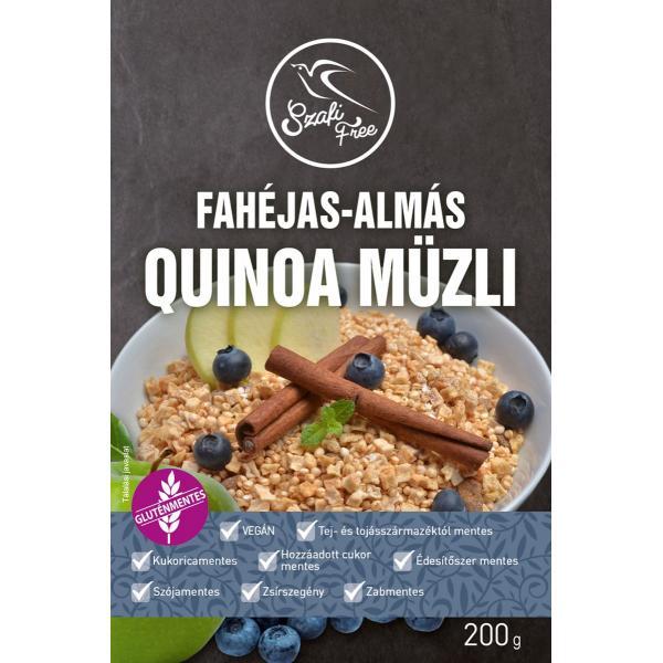 Szafi Free Fahéjas-Almás Quinoa Müzli (Gluténm...
