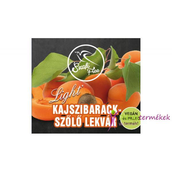 SZAFI FREE KAJSZIBARACK SZŐLŐ LEKVÁR 350g