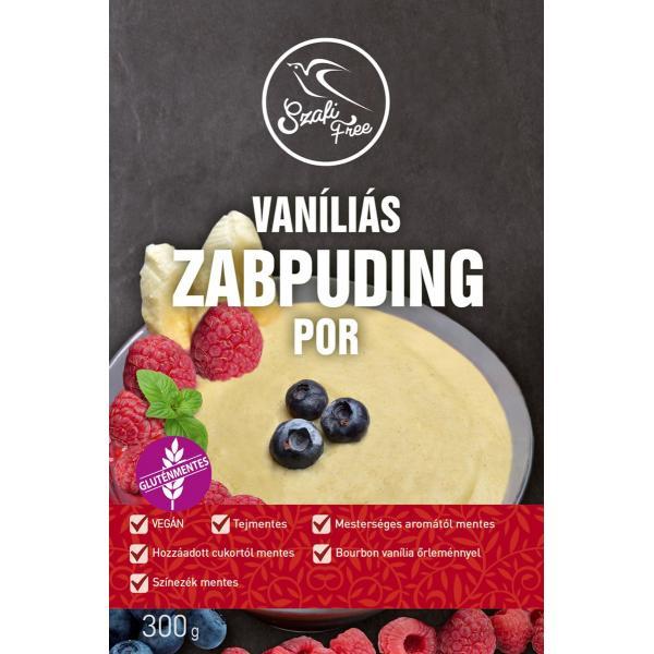 Szafi Free Vaníliás Zabpuding Por (Gluténmentes...