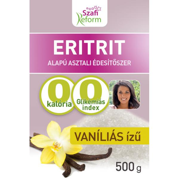 Szafi Reform Vaníliás Ízű Eritrit (Eritritol) ...