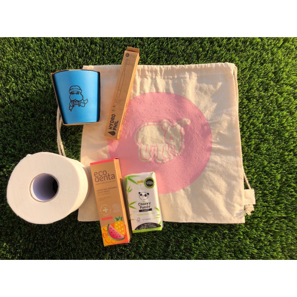 Toiletry pack for kids PINK
