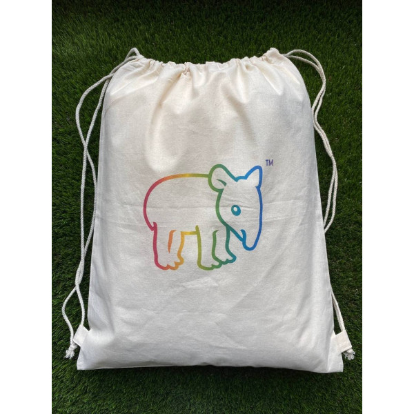 Tapirus drawstring bag RAINBOW