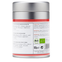 Sporty fruits organic fruit tea with Apple, tin ca...