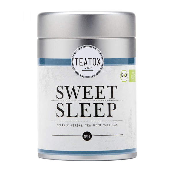SWEET SLEEP Organic Herbal Tea with Valerian, Tin Can (60g)