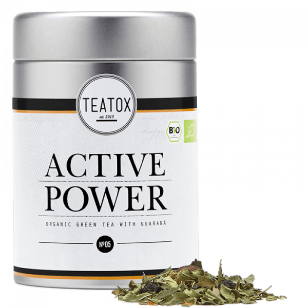 Active power vitality tea, tin can, 60g