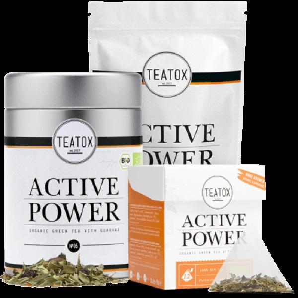 Active power vitality tea, tin can, 60g