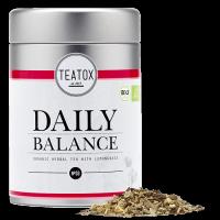 Daily balance organic herbal tea tin can 50g