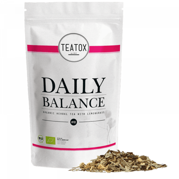 Daily balance organic herbal tea refill 50g