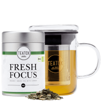 FRESH FOCUS GINSENG tea mix, 70G, metal box