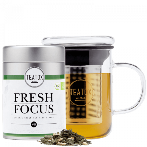 FRESH FOCUS GINSENG tea mix, 70G, metal box