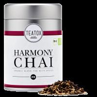 Harmony chai ginger black tea mix, tin can, 90 g