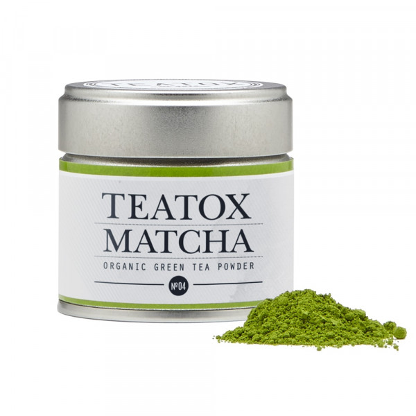 Matcha green tea tin can, 30g