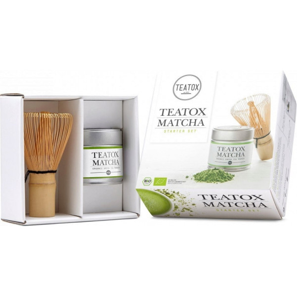 Matcha organic green tea starter set
