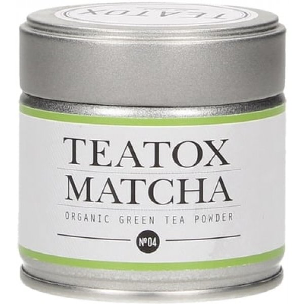 TEATOX MATCHA GREEN TEA metal box, 30g