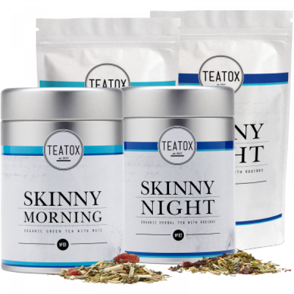 Detox tea- SKINNY TEATOX PROGRAM 28 days