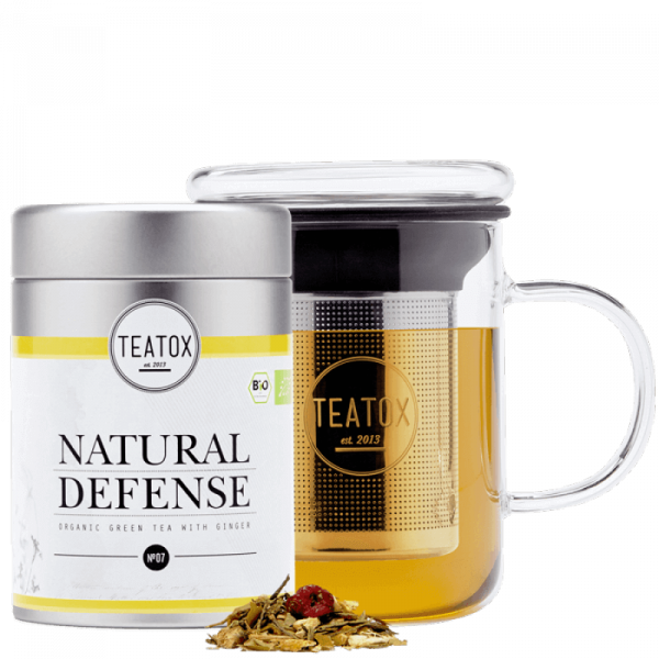 Natural defense organic tea mix, tin can, 70g