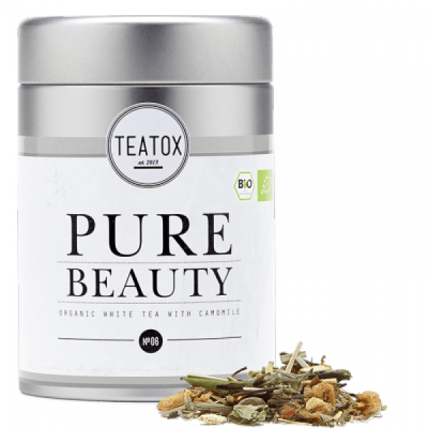 PURE BEAUTY tea metal box 60g