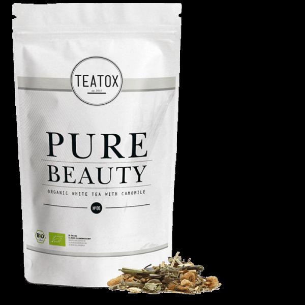 Pure beauty szépség tea utántöltő, 60 gr