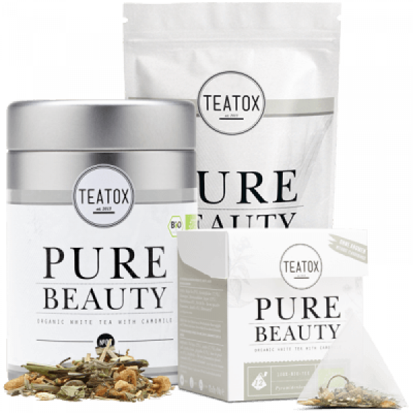 Pure beauty tea mix refill, 60 g