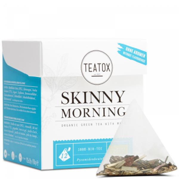 SKINNY MORNING GOJI BOGYÓ TEA 24GR FILTERES