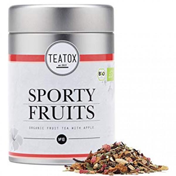Sporty fruits Organic Fruit Tea with Apple, Tin Ca...