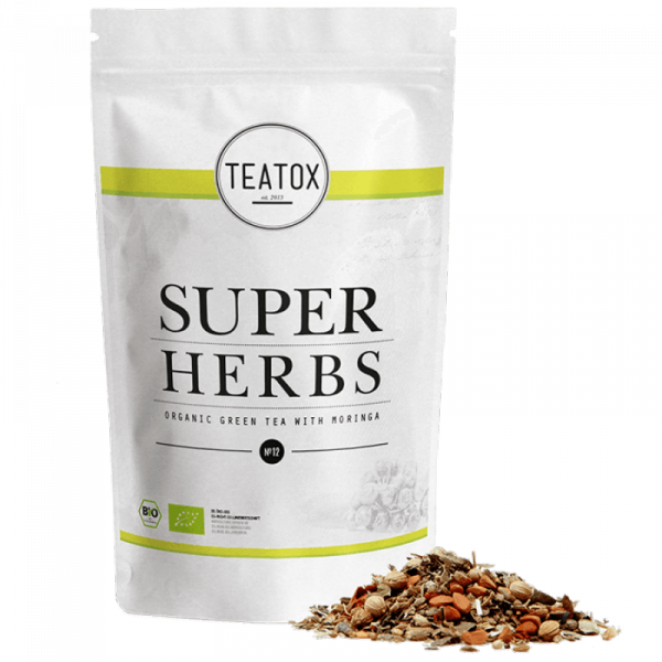 Super herbs energizing organic herbal tea, refill,...