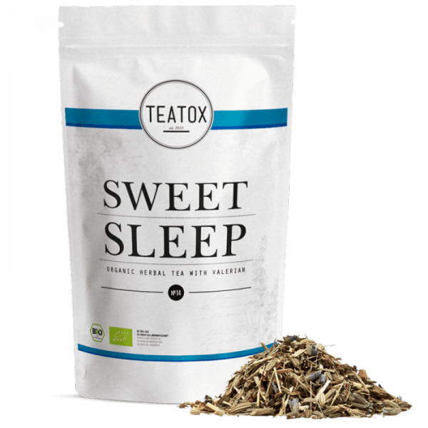 Sweet sleep organic herbal tea with valerian, refi...