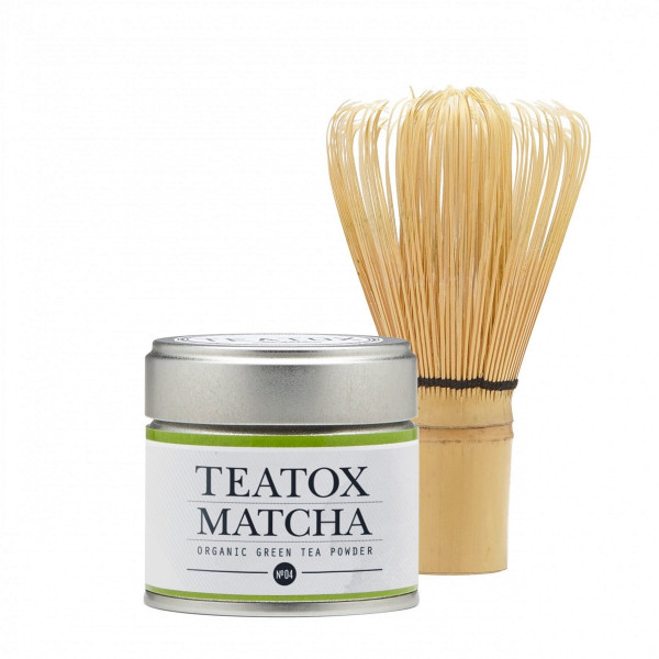 Matcha organic green tea starter set
