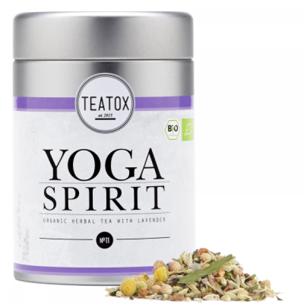 YOGA SPIRIT RELAX TEA 60G metal box