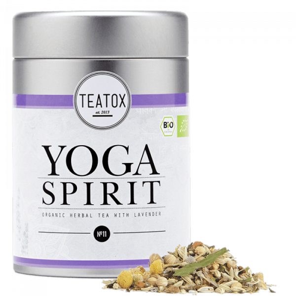 Yoga spirit relax tea, tin can, 60 g