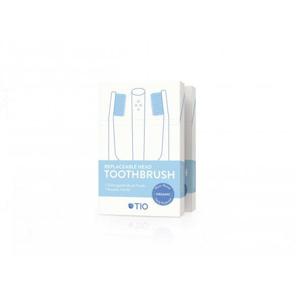 Cserélhető fejű fogkefe csomag két fogkefe pó...