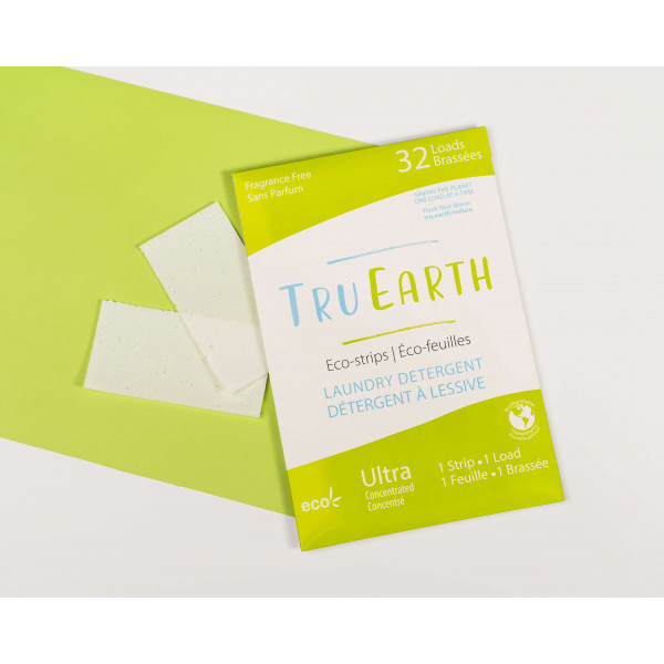 Tru Earth Laundry Eco-Strips fragrance free