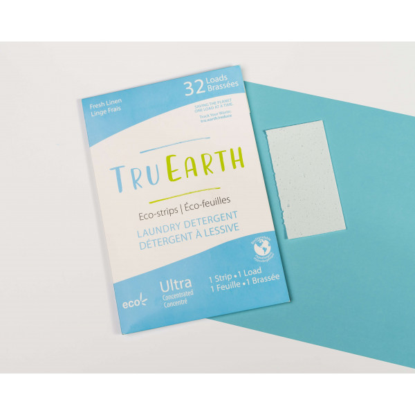 Tru Earth Laundry Eco-Strips fresh linen