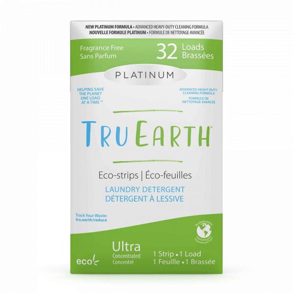 Tru Earth Platinum Laundry Eco-Strips fragrance fr...