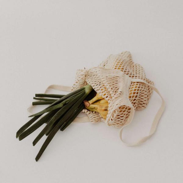 String bag with shoulderstraps