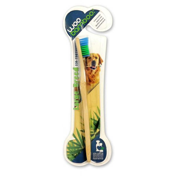 Woobamboo bamboo toothbrush for pet