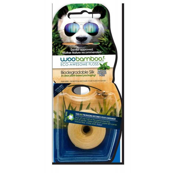 Woobamboo is an environmentally friendly floss