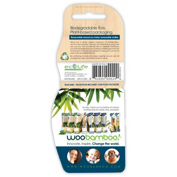 Woobamboo environmentally friendly bamboo floss