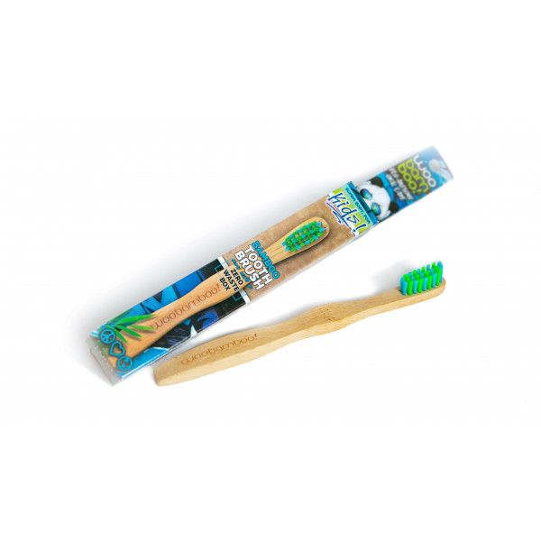 Woobamboo bamboo toothbrush kid supersoft in paper box 1 pc