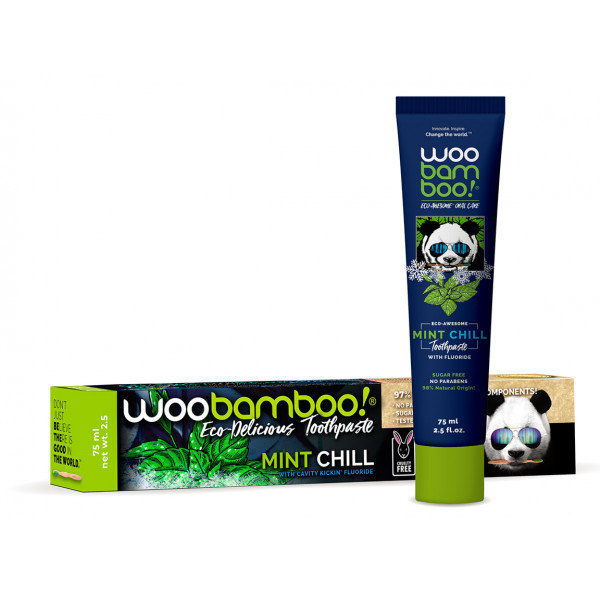 Woobamboo mint chill natural toothpaste