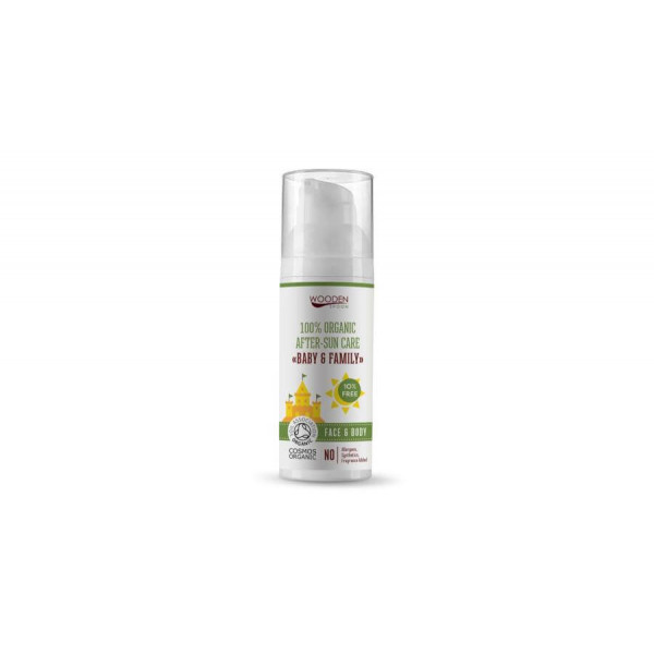 Organic after-sun cream, 50 ml